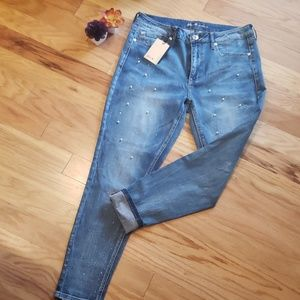 NWT Seven for all Mankind skinny high rise jeans